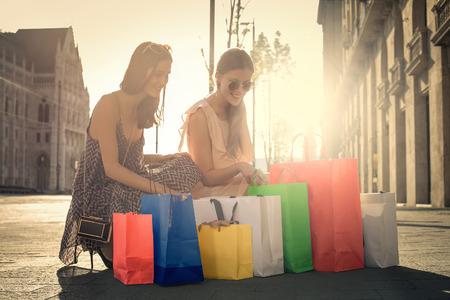 faire les courses: Shopping bags
