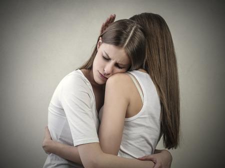 amity: Teneder hug Stock Photo
