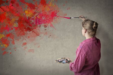 dirty blond: passionate for paint