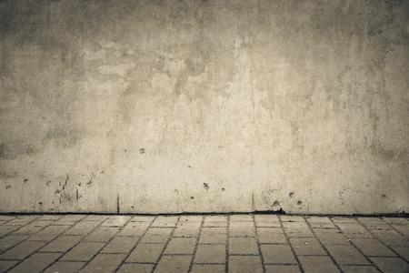 Leere Wand