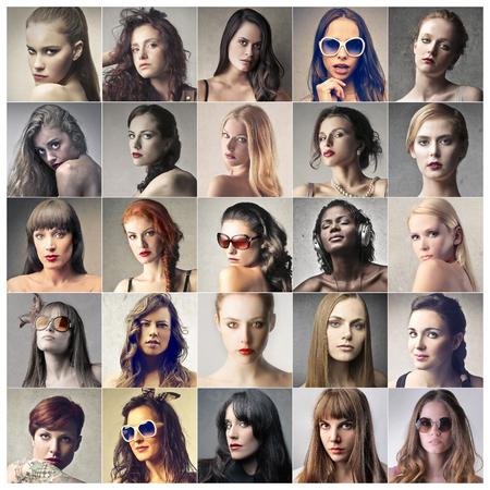 brunette woman: Classy womens portraits
