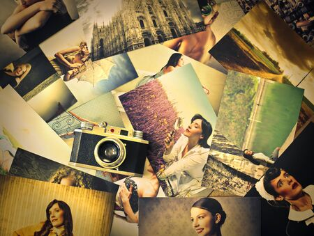 representing: Pictures representing old memories