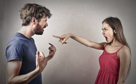 couple: Couple arguing