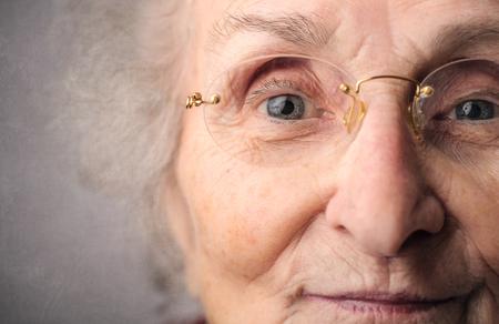 Elderly womans portrait