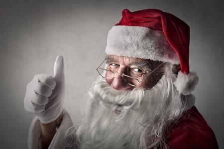 Santa Claus Zdjęcie Seryjne