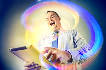 technology: Magical technology Stock Photo