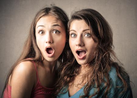 girl: Surprised girls