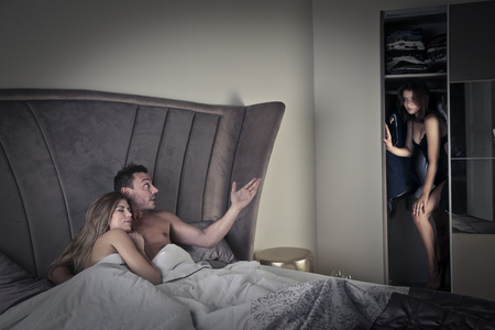 betrayal: Cheater in his bedroom