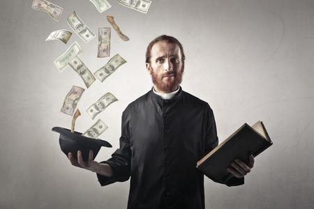 豊富な司祭 写真素材