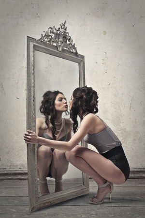 rich: Beauty in the mirror
