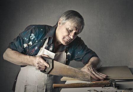 artesano: Artesano en el trabajo