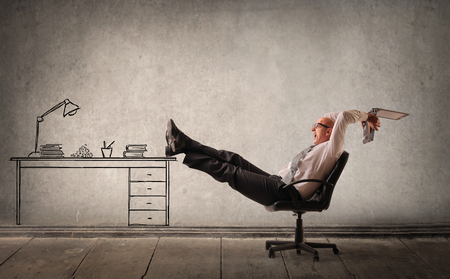 noncompliance: Relax in ones own office