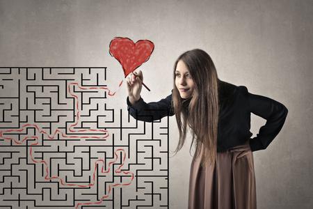 Labyrint naar mijn hart