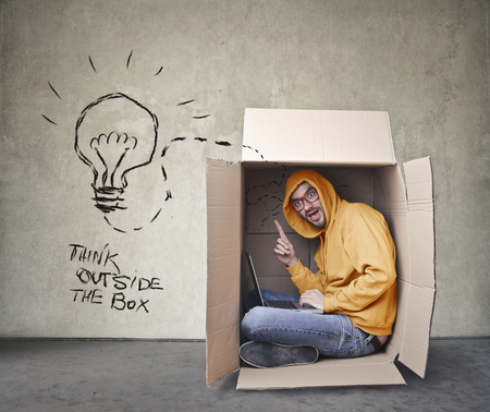 think: Think outside the box