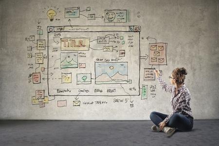 napsat: Projektování nové webové stránky