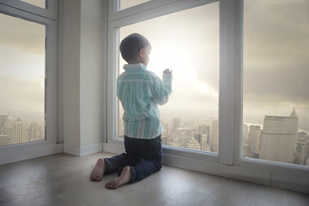Boy at the window