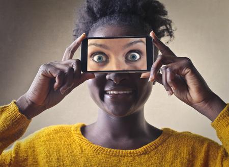 facial features: Changing facial features