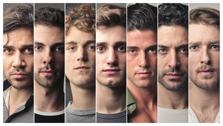 Serious mens portraits