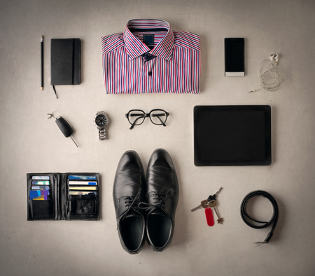 objects: Businessmans objects Stock Photo
