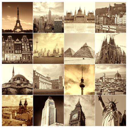 Cities portraits