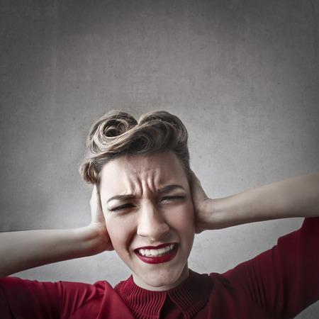 annoyed girl: Annoyed girl portrait