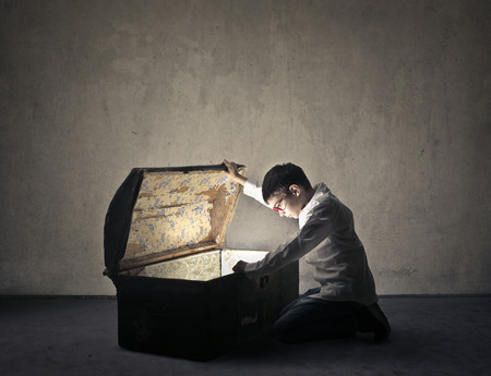 Looking for the hidden treasure