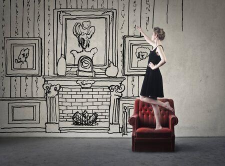 Droomt u van een luxe woonkamer