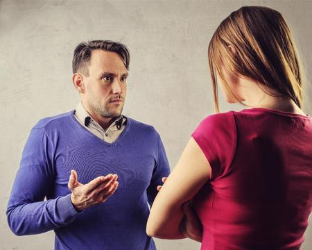discord: Couple arguing