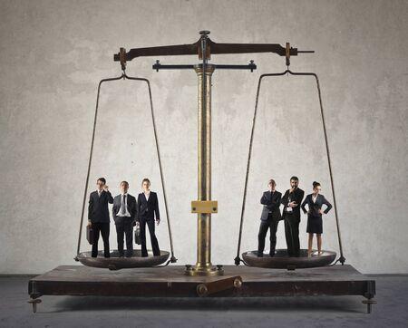 valor: Los equipos de trabajo a escala