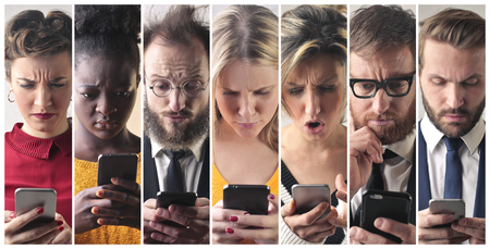 Smart phone users photo