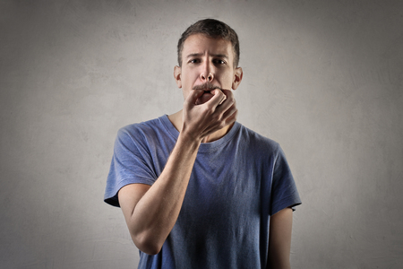 Whistling man