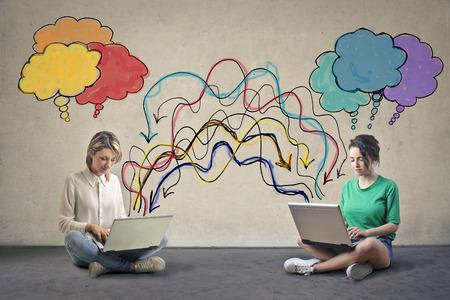 exchanging: Exchanging ideas