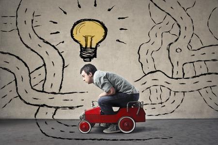 mente: En busca de una idea creativa