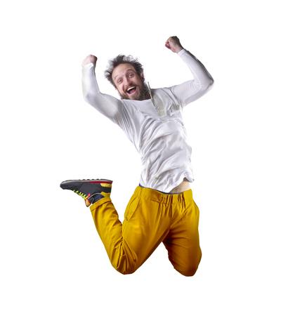 jubilate: Jumping man