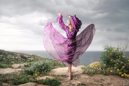 Dancing lady Stock fotó