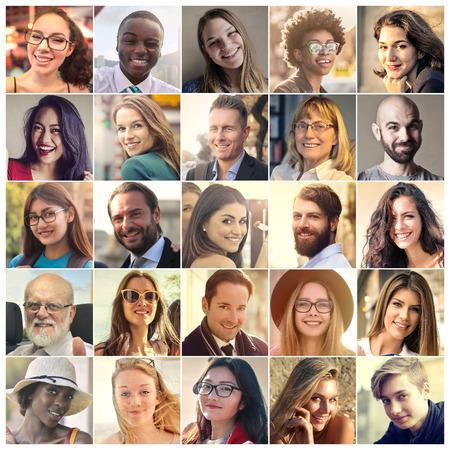 Different people Stockfoto