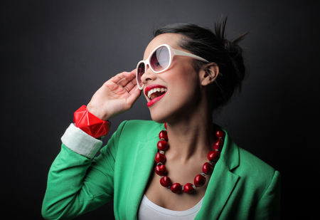 fashionable woman: Fashionable woman
