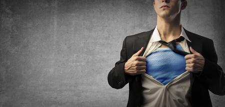 business idea: Super hero under ordinary clothes