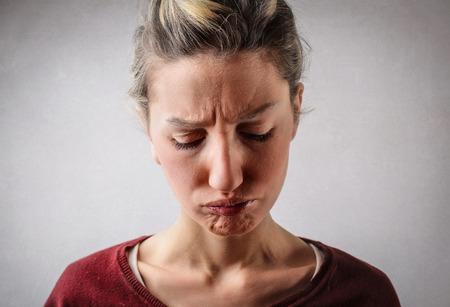 desilusion: La decepción en su cara