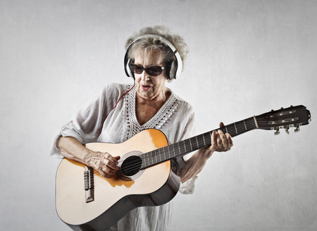 Rocking grandmother