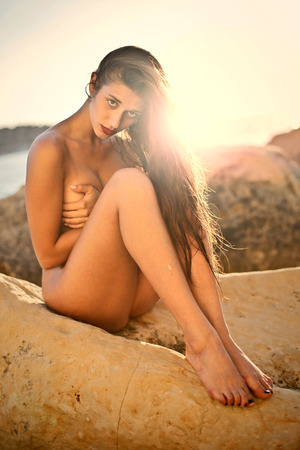 beautiful naked woman: Naked beautiful woman