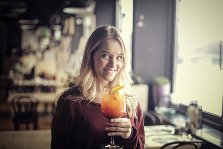 fruit: tasting a nice cocktail