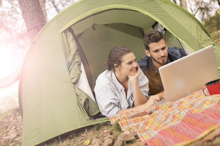 courtain: Watching outdoor pictures