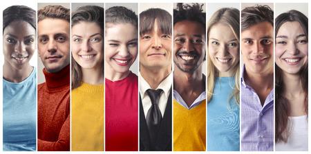 Many people many cultures Stockfoto