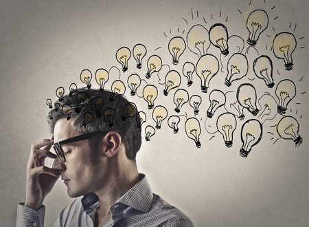 study: The businessman has many ideas