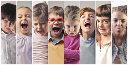 Many faces of children