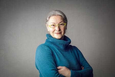 A nice old lady