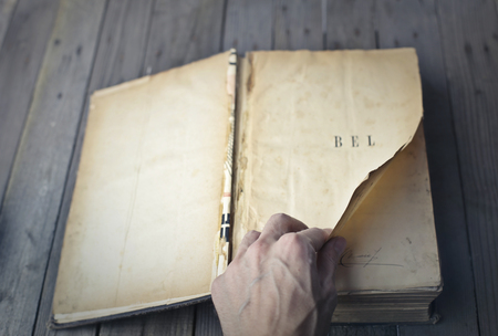 An old book