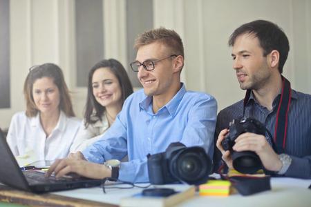 A good team During Work photo
