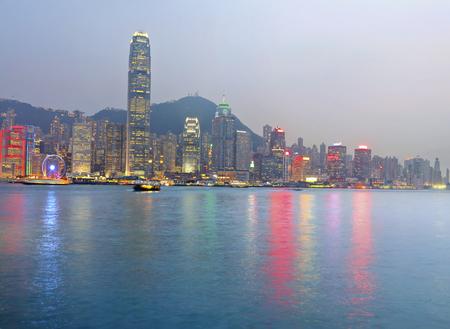 Hong Kong City Landmark Archivio Fotografico - 81157392